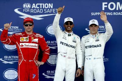 'Pole' para Hamilton que busca la victoria