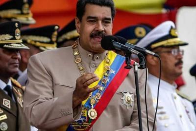 """Maduro pide """"insurrección"""" en caso de que se vea afectado su Gobierno"""