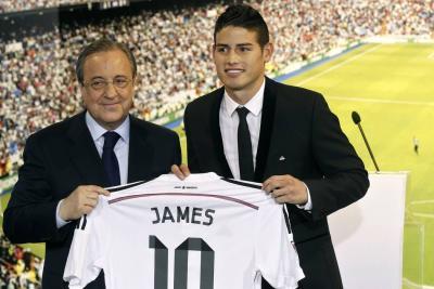 """Florentino sobre James: """"Los jugadores del Madrid no se van cuando quieren"""""""