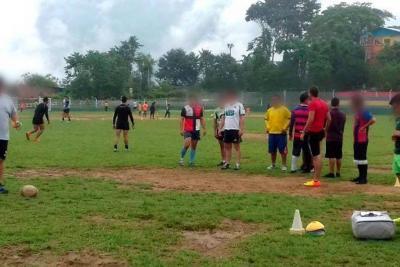 Rugby, opción para los jóvenes internos en Hogares Claret