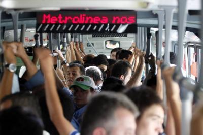 Harán un ensayo para integrar el bus urbano con Metrolínea