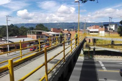 Puente de Cabecera volvió a ser seguro