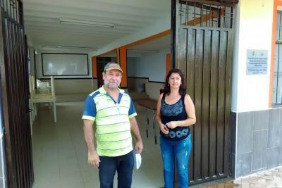 Restauraron la apariencia del salón comunal en El Reposo