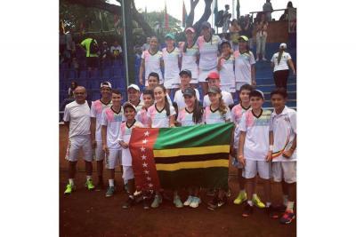 Santander se destaca en el Nacional Interligas de Tenis