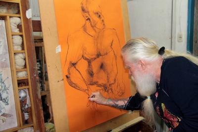 Jorge Mantilla Caballero, primer artista con el título de 'Honoris Causa' en bellas artes