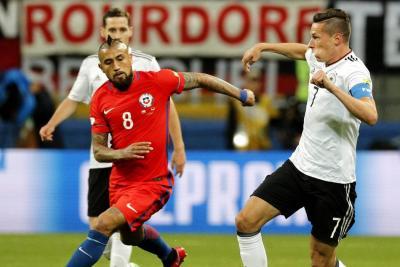 Chile y Alemania buscarán la gloria en la final de la Copa Confederaciones