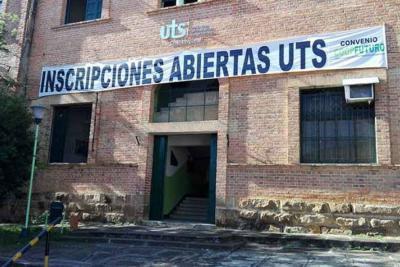 UTS no abrió inscripción para el