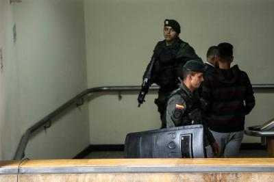 Van 10 personas en la cárcel por presunta responsabilidad en atentado al Andino