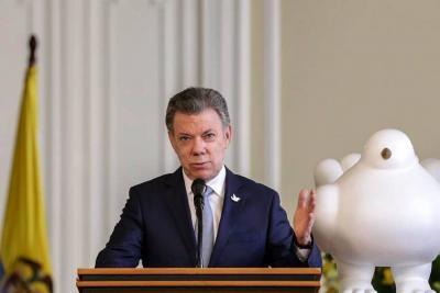Santos aprueba adición al presupuesto de la Nación por $8,56 billones