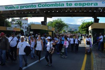 En Colombia hay 340 mil venezolanos sin interés en regresar a su país