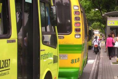 Con un ficho usted podría acceder desde un bus convencional a Metrolínea