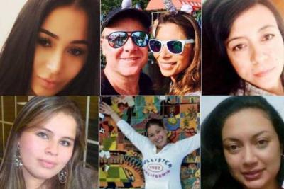 Los seis crímenes de mujeres colombianas en el exterior que estremecieron al país