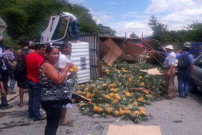 Hombre resultó herido en un accidente de tránsito al norte de Bucaramanga