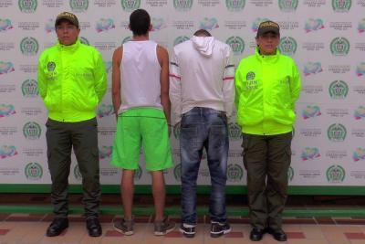 Cayeron dos jóvenes acusados de un fleteo en Bucaramanga