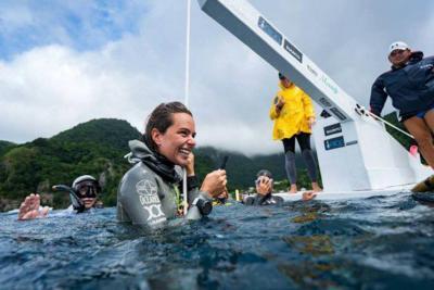Colombiana Sofía Gómez rompió segundo récord mundial de apnea