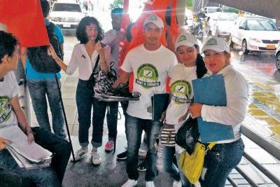 Jornada de recolección de firmas anticorrupción en Bucaramanga