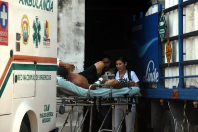 Hombres en moto dispararon contra jornalero para robarlo en Santander