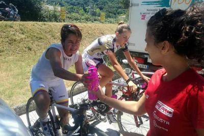 Ana Cristina cumplió y terminó su primer Giro
