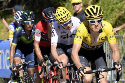 Quintana y Urán mantienen sus puestos tras 10 etapa del Tour