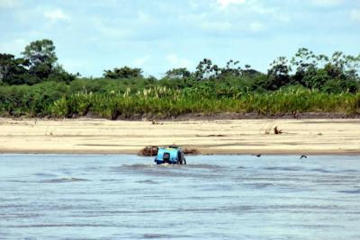 Alerta por bajo nivel del río Magdalena en Santander