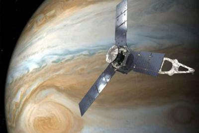 Estas son las imágenes de la Gran Mancha Roja del planeta Júpiter