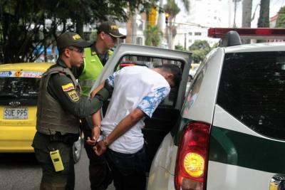 Con la ayuda de un mensajero, Policía frustró robo de $8 millones en Bucaramanga