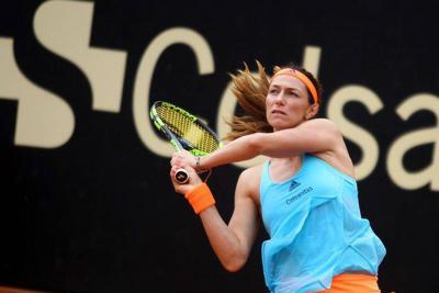 Mariana Duque, campeona en dobles del abierto de Budapest