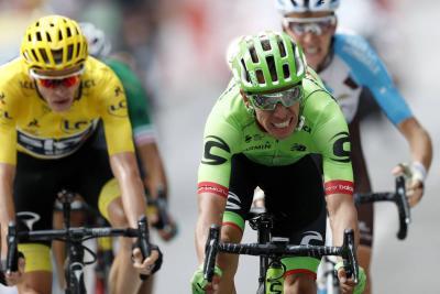Froome vuelve a ser líder del Tour y Urán está a 6 segundos del podio