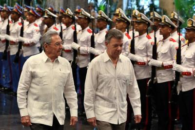 """""""Colombia está muy interesada en invertir en Cuba"""": Santos"""