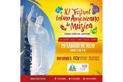 Festival de Música  Folclórica se vuelve a tomar el Santísimo