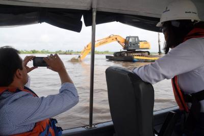En agosto se iniciarán trabajos de dragado en río Magdalena en Santander
