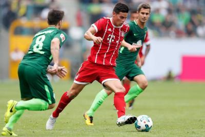 Ancelotti advirtió que James Rodríguez no tiene garantía de ser titular en Bayern