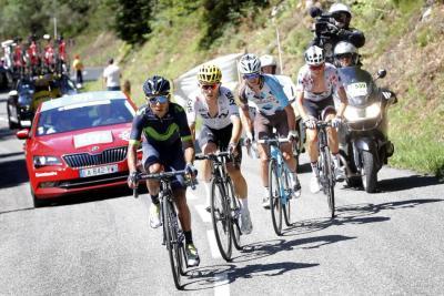 Nairo Quintana regresó al Top 10 de la general en el Tour de Francia