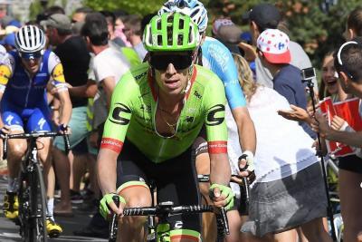 Rigoberto Urán es segundo en la general del Tour de Francia