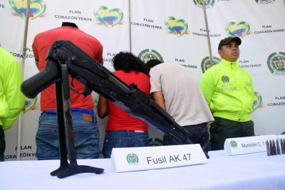 Capturadas tres personas sindicadas de homicidio en Santander