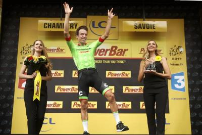 Rigoberto Urán es subcampeón del Tour de Francia 2017