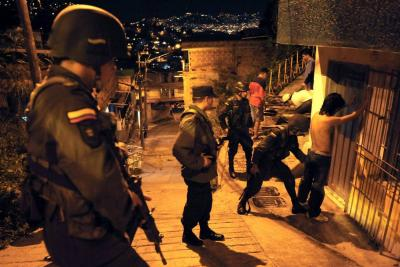 Ofensiva contra la criminalidad en el territorio nacional