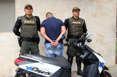 Ladrón de motocicletas fue capturado en Bucaramanga