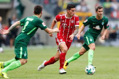 James Rodríguez dijo que llegó al Bayern Múnich para ganar títulos