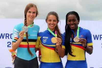 Fabriana Arias volvió a lo más alto del podio