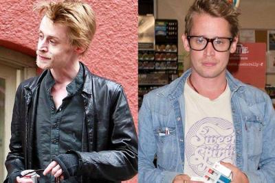 Macaulay Culkin sorprendió con su cambio de look