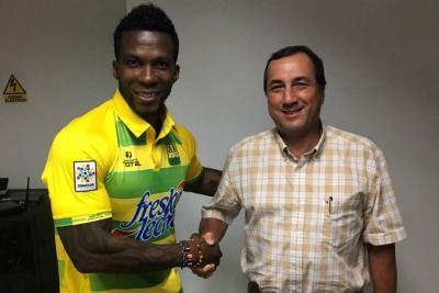 Llegó al Atlético Bucaramanga Franco Arizala: ¿Solución a la falta de gol?
