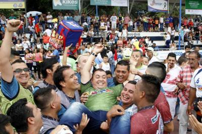 El flamante campeón  fue Deportivos Nejer-Financiera Comultrasan