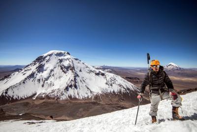 Este santandereano quiere llegar a las cumbres más altas del planeta
