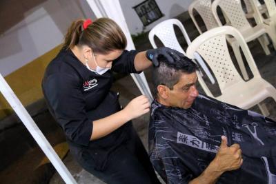 Alcaldía hizo brigada de salud para los habitantes de calle