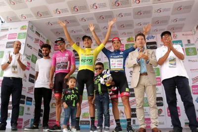 El EPM se impuso en la CRE en la primera etapa de la Vuelta a Colombia