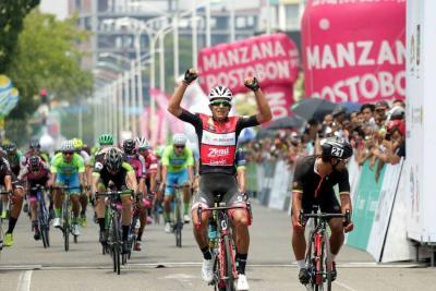 La Vuelta a Colombia llegó a Barrancabermeja con un santandereano en segundo lugar