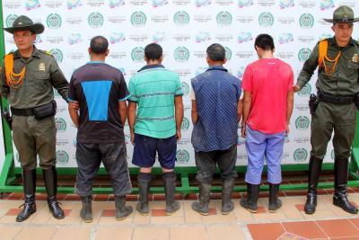 Caen cinco personas por explotación minera ilegal