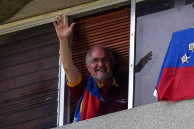 Antonio Ledezma regresa al arresto domiciliario en Venezuela