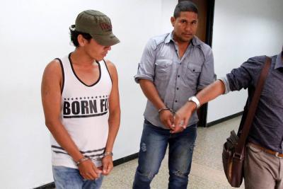 Dos hombres investigados por el delito de extorsión fueron enviados a prisión